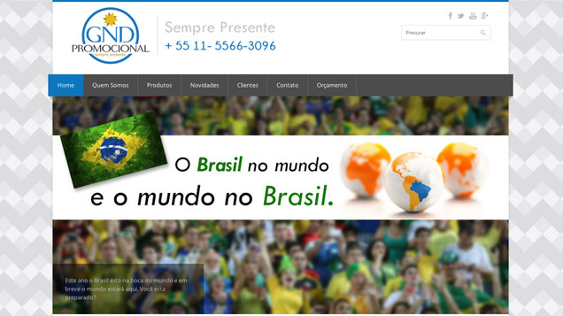 portfolio site gndpromocional